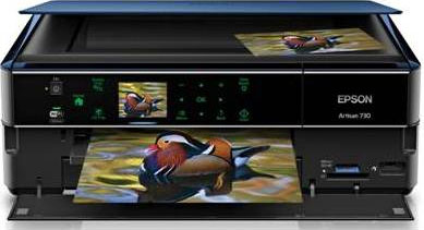 Epson's Artisan 730 all-in-one. Photo provided by Epson America Inc. Click for a bigger picture!