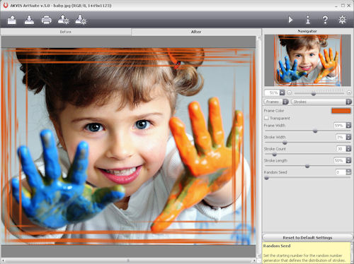 AKVIS Software's ArtSuite 5.0. Screenshot provided by AKVIS Software Inc. Click for a bigger picture!