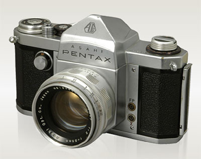 In 1957, the Asahi PENTAX became the first camera to be marketed under the Pentax name. Photo provided by Pentax Imaging Co.