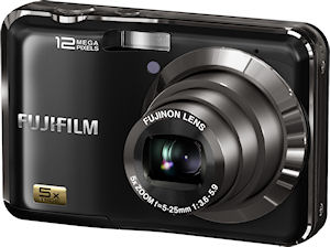 Fujifilm's FinePix AX200 digital camera. Photo provided by Fujifilm North America Corp. Click for a bigger picture!