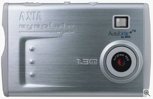 FUJIFILM AXIA's eyeplate mega digital camera. Courtesy of SMaL Camera Technologies. Click for a bigger picture!