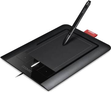 Wacom's multi-touch Bamboo Pen & Touch tablet. Photo provided by Wacom.