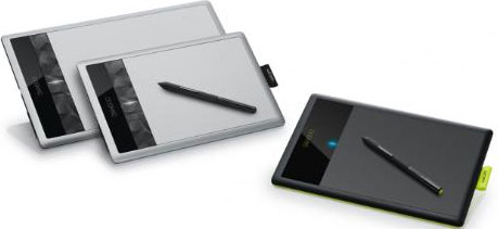 Wacom's updated Bamboo-series pen tablets. Photo provided by Wacom Technology Corp. Click for a bigger picture!