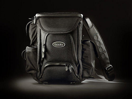 The Boda V3 series lens bag. Photo provided by GoBoda. Click for a bigger picture!