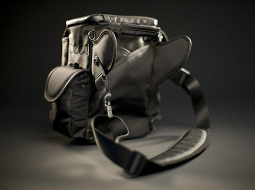 Rear view of the Boda V3 series lens bag. Photo provided by GoBoda. Click for a bigger picture!
