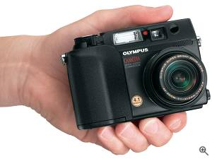 Olympus' Camedia C-4040 Zoom digital camera. Courtesy of  Olympus. Click for a bigger picture!