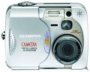 Olympus' Camedia D-40 Zoom digital camera. Courtesy of Olympus America Inc. Click for a bigger picture!