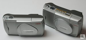 Olympus' Camedia D-520 digital camera compared to the D-510. Copyright © 2002, The Imaging Resource. All rights reserved.