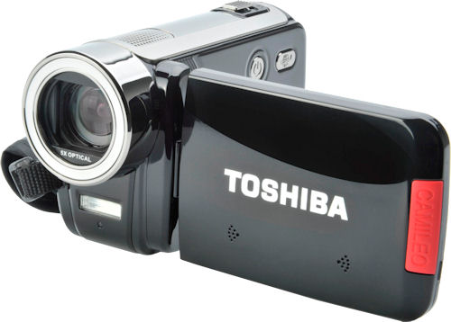 Toshiba's Camileo H30 digital camcorder. Photo provided by Toshiba UK. Click for a bigger picture!