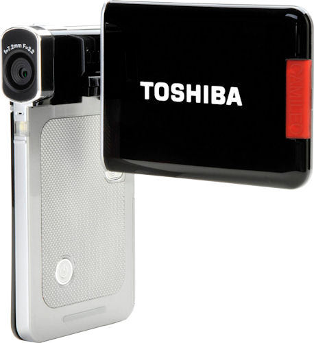 Toshiba's Camileo S20 digital camcorder. Photo provided by Toshiba UK. Click for a bigger picture!
