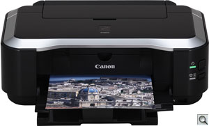 Canon iP4600 printer. Courtesy of Canon, with modifications by Zig Weidelich. Click for a bigger picture!