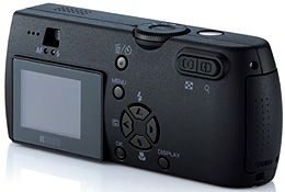 Ricoh's Caplio G3 Model M digital camera. Courtesy of Ricoh, with modifications by Michael R. Tomkins.