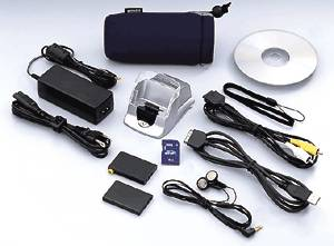 Ricoh's Caplio  RR10 digital camera bundle. Courtesy of Ricoh.