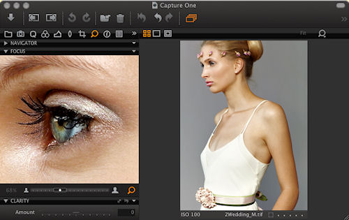 The Focus tool in Capture One 5.1 PRO. Screenshot provided by Phase One A/S. Click for a bigger picture!