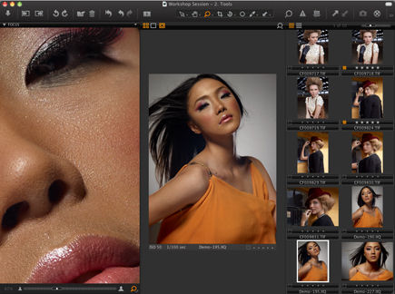 Capture One 5's new Focus tool. Screenshot provided by Phase One A/S.