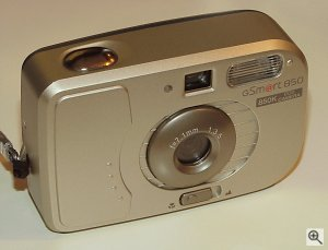 gSmart 850 digital camera. Copyright © 2001, Michael R. Tomkins. All rights reserved. Click for a bigger picture!