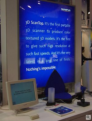 3D ScanTop display. Copyright © 2001, Michael R. Tomkins. All rights reserved. Click for a bigger picture!