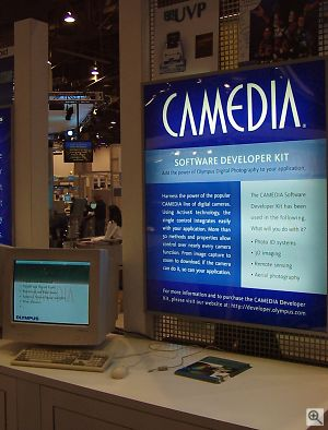 Camedia SDK display. Copyright © 2001, Michael R. Tomkins. All rights reserved. Click for a bigger picture!
