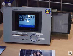NV-AP1 Digital Photo Printer. Copyright © 2001, Michael R. Tomkins. All rights reserved. Click for a bigger picture!