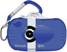 NH Japan  Holdings' Che-ez! babe digital camera keychain. Courtesy of NH Japan Holdings.