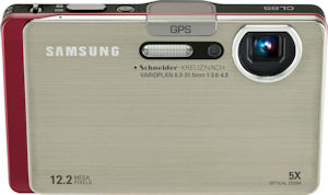 Samsung's CL65 digital camera. Photo provided by Samsung Electronics America Inc. Click for a bigger picture!