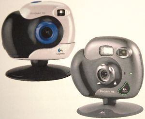 Logitech's ClickSmart 310 and 510 digital cameras. Courtesy of Logitech, with modifications by Michael R. Tomkins.
