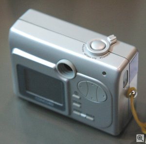Concord's Eye-Q Go LCD digital camera. Copyright © 2002, Michael R. Tomkins. All rights reserved.