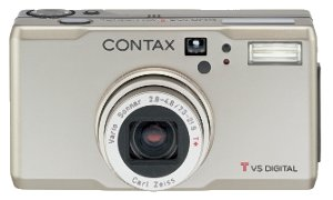 Contax' Tvs digital camera. Courtesy of Contax, with modifications by Michael R. Tomkins.