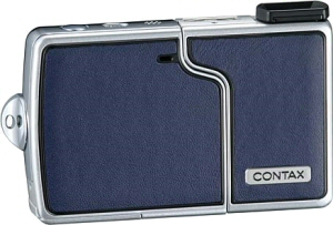 Contax's U4R digital camera. Courtesy of Contax, with modifications by Michael R. Tomkins. Click for a bigger picture!