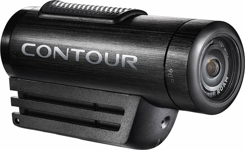 The ContourROAM video camera is waterproof to one meter, and shoots HD video. Photo provided by Contour Inc. Click for a bigger picture!