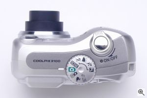 Nikon's Coolpix 3100 digital camera. Copyright © 2003, The Imaging Resource. All rights reserved. Click for a bigger picture!