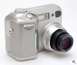 Nikon's Coolpix 4300 digital camera. Copyright © 2002, The Imaging Resource. All rights reserved. Click for a bigger picture!