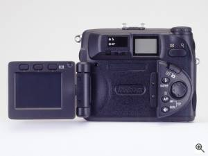 Nikon's Coolpix 5000 digital camera. Courtesy of Nikon Inc. Click for a bigger picture!
