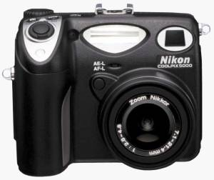 Nikon's Coolpix 5000 digital camera. Courtesy of Nikon Inc.