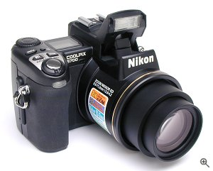 Nikon's Coolpix 5700 digital camera. Copyright © 2002, The Imaging Resource. All rights reserved.