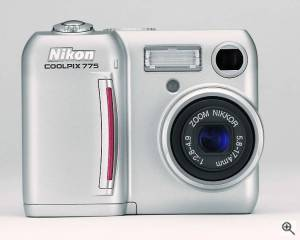 Nikon's Coolpix 775 digital camera. Courtesy of  Nikon Inc. Click for a bigger picture!