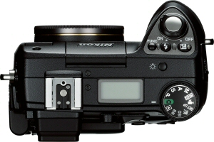 Nikon's Coolpix 8400 digital camera. Courtesy of Nikon, with modifications by Michael R. Tomkins. Click for a bigger picture!
