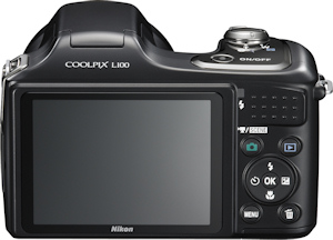 Nikon's Coolpix L100 digital camera. Photo provided by Nikon Inc. Click here for a bigger picture!