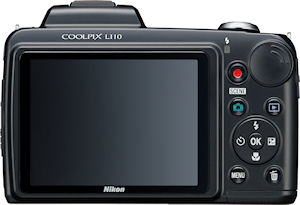 Nikon's Coolpix L110 digital camera. Photo provided by Nikon Inc. Click for a bigger picture!