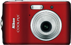 Nikon's Coolpix L18 digital camera. Courtesy of Nikon, with modifications by Michael R. Tomkins.