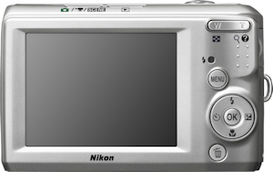 Nikon's Coolpix L19 digital camera. Photo provided by Nikon Inc. Click here for a bigger picture!