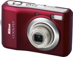 Nikon's Coolpix L20 digital camera. Photo provided by Nikon Inc. Click here for a bigger picture!