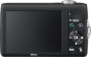 Nikon's Coolpix L22 digital camera. Photo provided by Nikon Inc. Click for a bigger picture!