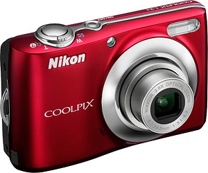 Nikon's Coolpix L24 digital camera. Photo provided by Nikon Inc. Click for a bigger picture!