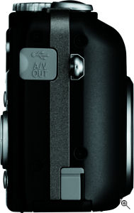 Nikon's Coolpix P1 digital camera. Courtesy of Nikon, with modifications by Michael R. Tomkins. Click for a bigger picture!