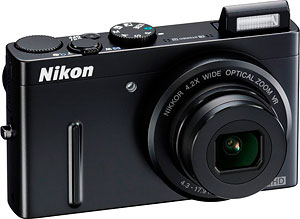 Nikon's Coolpix P300 digital camera. Photo provided by Nikon Inc. Click for a bigger picture!