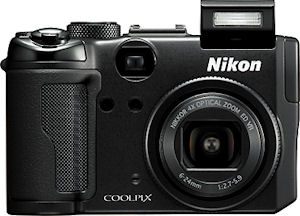 Nikon's Coolpix P6000 digital camera. Courtesy of Nikon, with modifications by Michael R. Tomkins.
