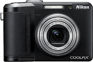 Nikon's Coolpix P60 digital camera. Courtesy of Nikon, with modifications by Michael R. Tomkins.