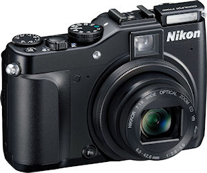 Nikon's Coolpix P7000 digital camera. Photo provided by Nikon Inc. Click for a bigger picture!