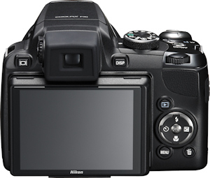 Nikon's Coolpix P90 digital camera. Photo provided by Nikon Inc. Click here for a bigger picture!